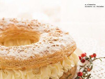 Cómo hacer un roscón de Reyes de hojaldre