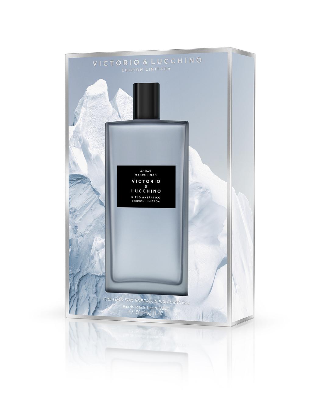 Agua Masculina Hielo Antártico