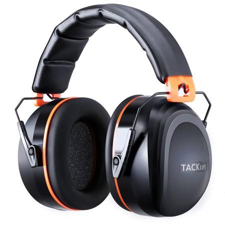 Cupón de descuento de 4 euros en los cascos protectores para el oído Tacklife HNRE1: aplicándolo se queda en 8,99 euros en Amazon