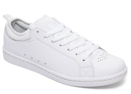 Zapatillas Piel Color Blanco