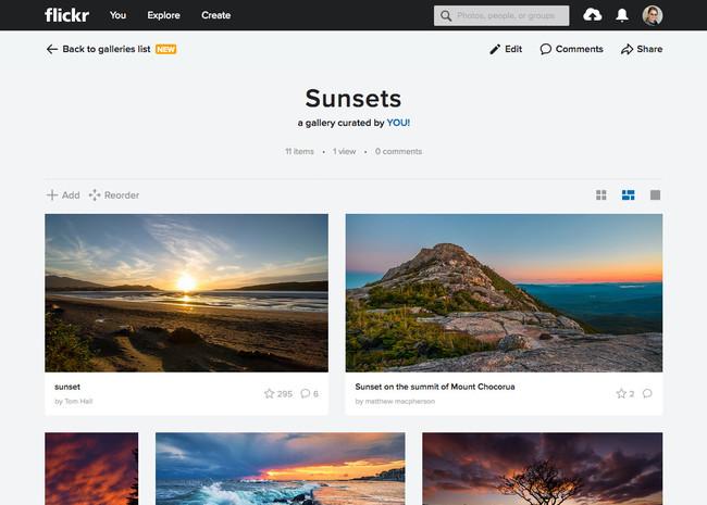 """Flickr va a introducir cambios en sus galerías para """"estimular la creatividad del usuario"""""""