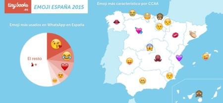 Dime en qué comunidad autónoma vives y te diré cual es tu emoji favorito