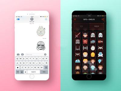 Cómo compartir emojis y gifs de Star Wars en WhatsApp, Telegram y redes sociales