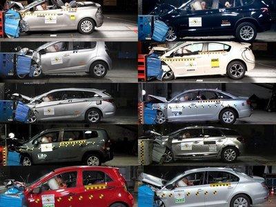 Últimos resultados EuroNCAP: A6, Ampera, Aveo, DS5, Golf Cabriolet, i40, Jetta, Orlando, Picanto y X3