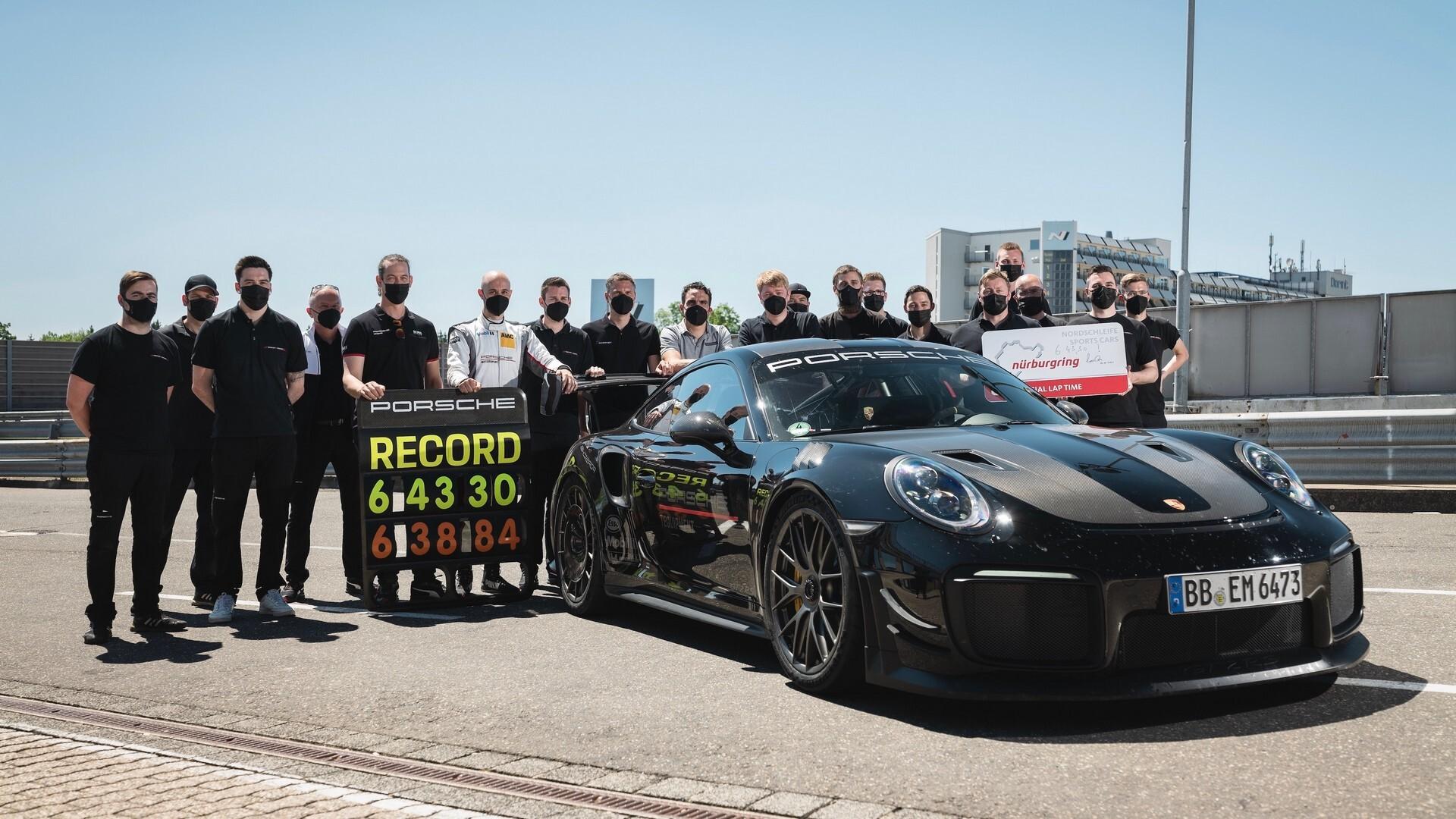 Foto de Porsche rompe récord de velocidad (3/8)