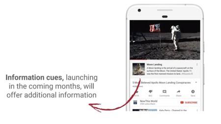 YouTube usará información de Wikipedia para contrarrestar su problema con las teorías conspirativas
