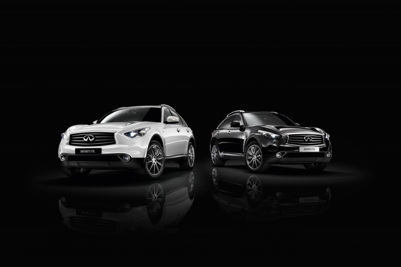 Foto de Infiniti FX Edición Black and White (1/10)