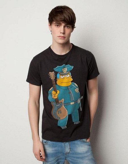 camisetas simpsons