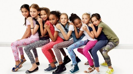 Para la primavera y verano del 2014 Benetton nos ofrece una gran colección de jeggings para las niñas