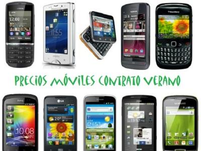 Comparativa precios móviles de tarjeta prepago verano 2012