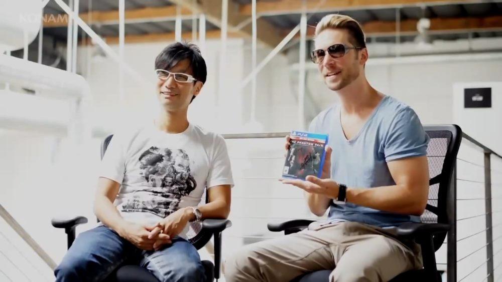 Hideo Kojima con Troy Baker