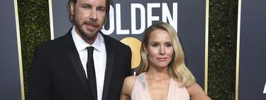 La alfombra roja de los Globos de Oro 2019 se viste de color nude y Kristen Bell es un (maravilloso) ejemplo