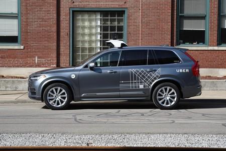 Volvo Uber Autonomo