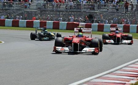 GP de Canadá F1 2011: Fernando Alonso confirma la mejoría y saldrá segundo