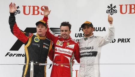 Las mejores imágenes del Gran Premio de China
