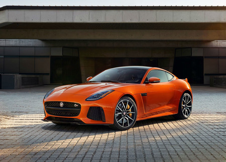 Jaguar F Type Svr Coupe
