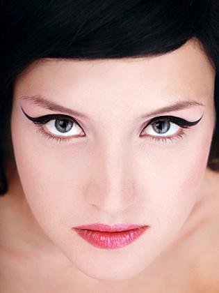 Trazo con eyeliner para profesionales