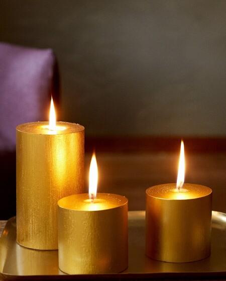 velas cilindro