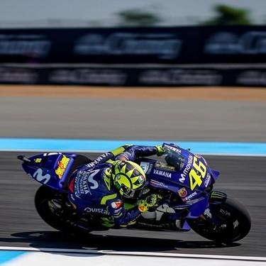 """Marco Lucchinelli: """"Valentino Rossi es bueno pero desde que se fue Jorge Lorenzo, la Yamaha no fue bien"""""""