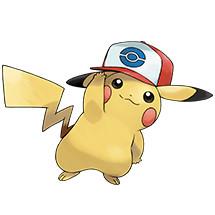 Pikachu Unova