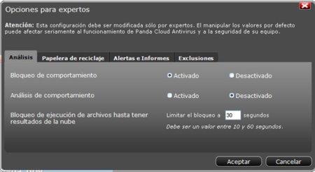 Configuración Panda Cloud