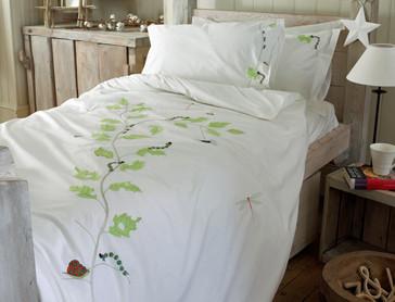 Bichos y árboles, ropa de cama infantil ecológica