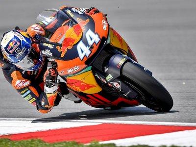 Enésimo aviso de Miguel Oliveira y KTM liderando la primera jornada de Moto2