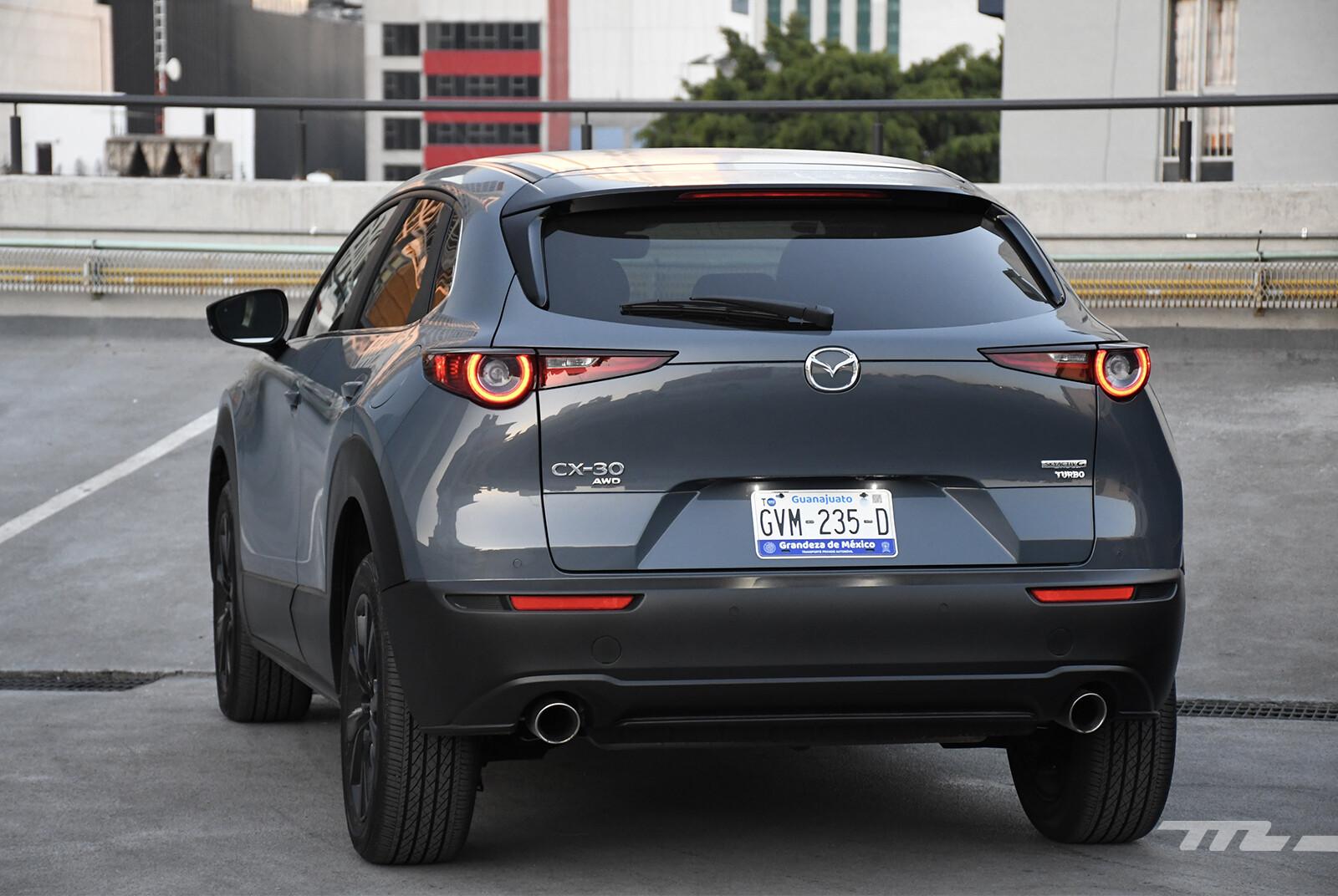 Mazda CX-30 turbo (prueba)