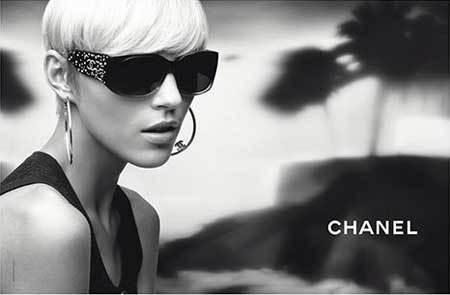 Foto de Anja Rubik para Chanel Eyewear (1/5)