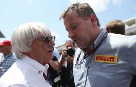 Ecclestone Y Paul Hembery De Pirelli