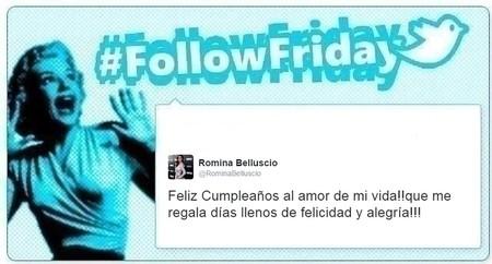 #FollowFriday de Poprosa: de bodas que dan miedito a cumpleaños de famosos
