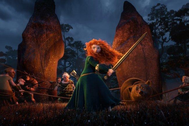 Mérida, la princesa de Pixar