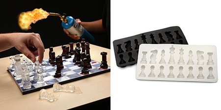 ajedrez de hielo