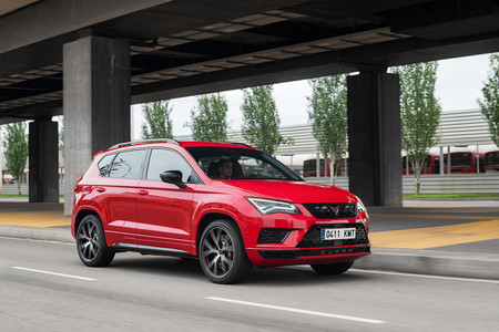 CUPRA Ateca frontal lateral