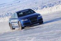 El Audi RS6 arrebata a Bentley su récord en hielo