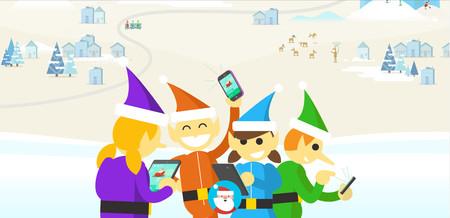 Sigue a Papá Noel esta Navidad 2017 con la nueva aplicación de Google para Android