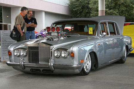 El Rolls-Royce Silver Shadow a la americana se pasea por el SEMA Show