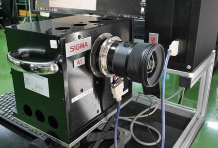 Así es como Sigma analiza la calidad de imagen de sus objetivos antes de colocarlos en el mercado