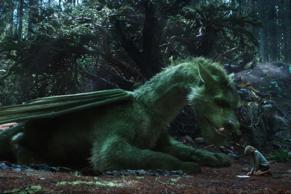 Escena Peter Y El Dragon