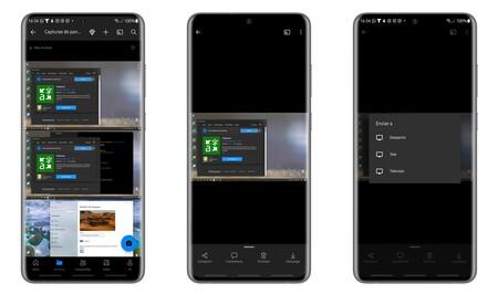 Chromecast Android Onedrive