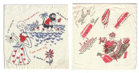 Mapiot, coleccion de servilletas
