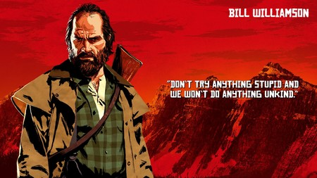 Red Dead Redemption 2 Bill Williamson