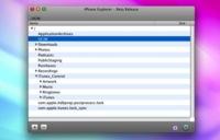 iPhone Explorer, acceso al sistema de ficheros del iPhone desde Mac OS X