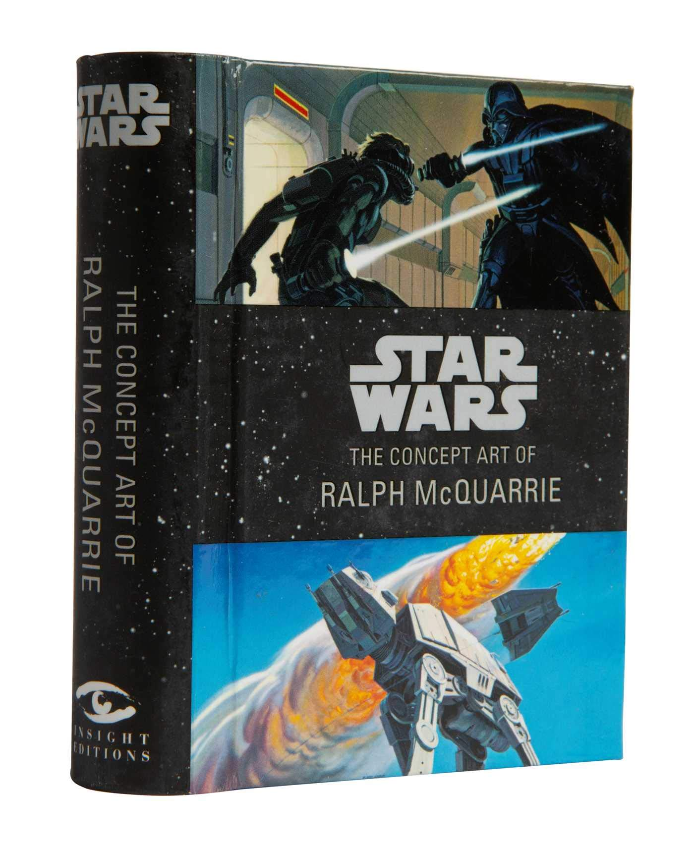 Star Wars: The Concept Art of Ralph McQuarrie Mini Book (Inglés) Pasta dura