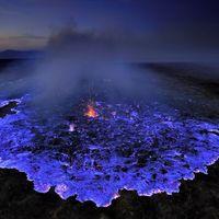 ¿Por qué este volcán de etiopía está escupiendo lava de color azul?