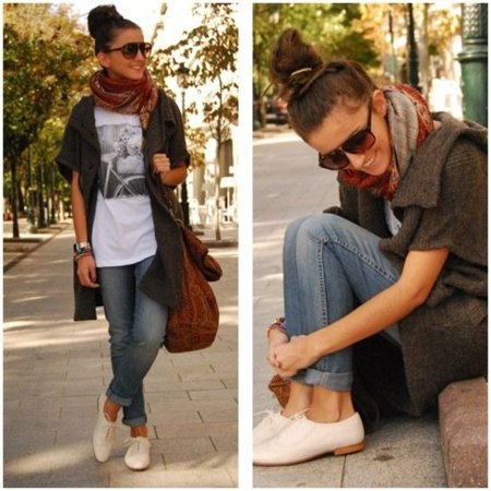 10 Looks De Calle Sin Tacones Comodidad En El Calzado Para El D A A D A