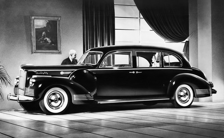 Packard 180 Super Eight Touring Sedan By Lebaron