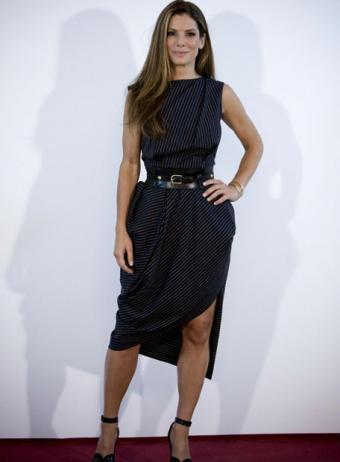 El look de Sandra Bullock en la presentación de La proposición en Madrid