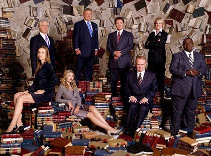 Boston Legal se despedirá el año que viene