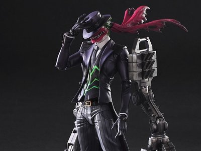 Tetsuya Nomura, diseñador de Final Fantasy, nos enseña su versión del legendario Joker